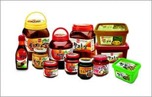 Red Pepper Paste, Soy Bean Paste