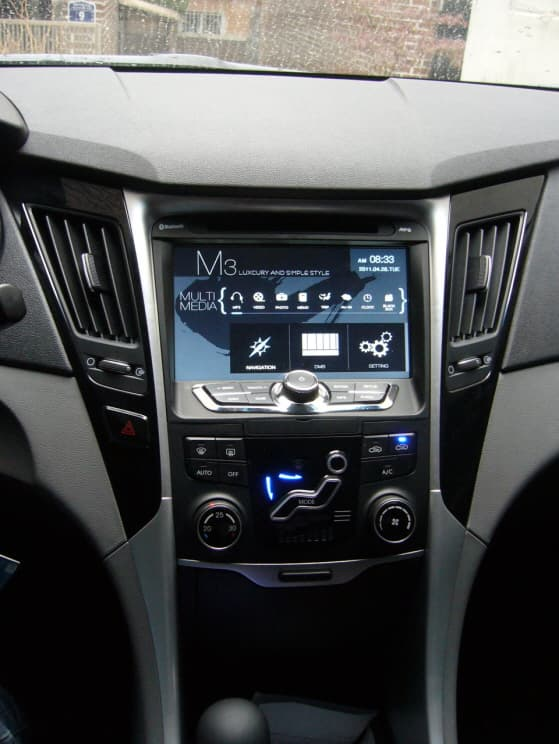 Hyundai Sonata 2012 Navigation From Won Motors Korea Co