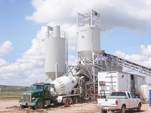 Closed Plants Concrete : Stationary concrete batching plant all pro from