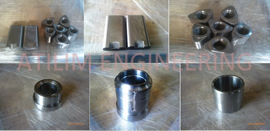 for INDECO MES hydraulic breaker spare parts