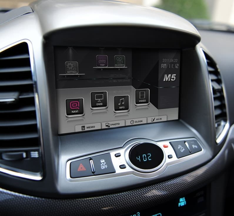 2012 Chevy Captiva Accessories: Cherolet 2012 CAPTIVA 8inch GPS Navigation From Won Motors