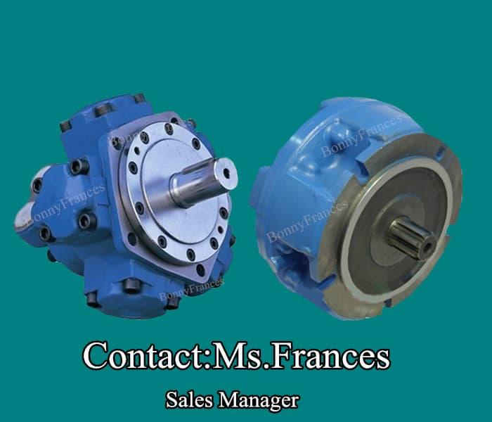 Gm nhm radial piston hydraulic motor from ningbo bonny Radial piston hydraulic motor