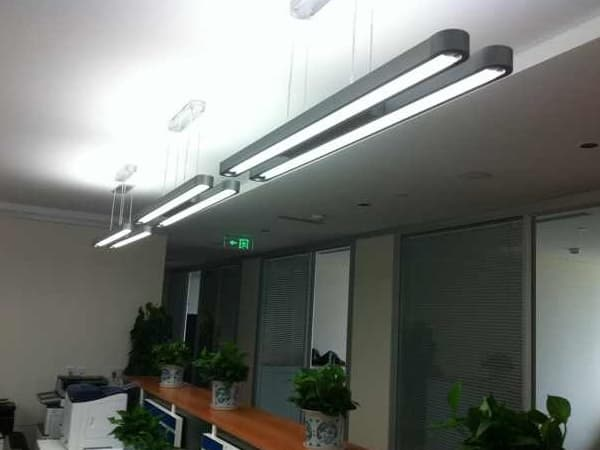 20W single tube office LED pendant light from Guangzhou Ritop
