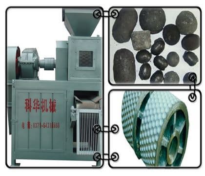 Coal dust <strong>briquette</strong> <strong>machine</strong>