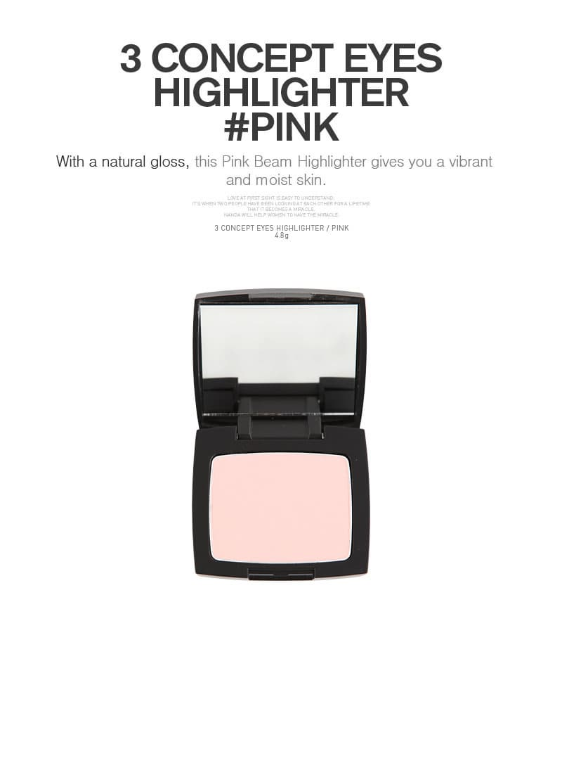 [3CE] 3CONCPET EYES -HIGHLIGHTER #Pink-