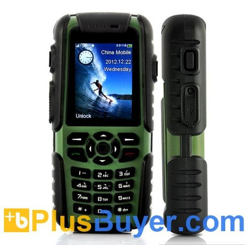 Vigis Rugged Mobile Phone With Walkie Talkie And Gps