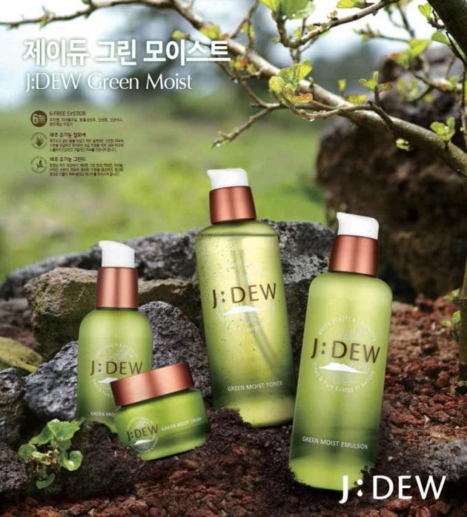 J;DEW GREEN MOIST SKIN CARE