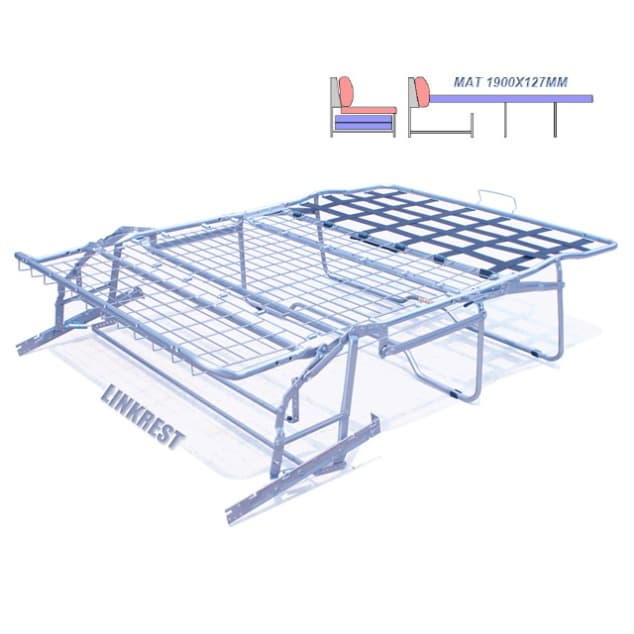 Basic extra long sofa bed mechanism 2900 from jiaxing rest for Click clack sofa bed mechanism