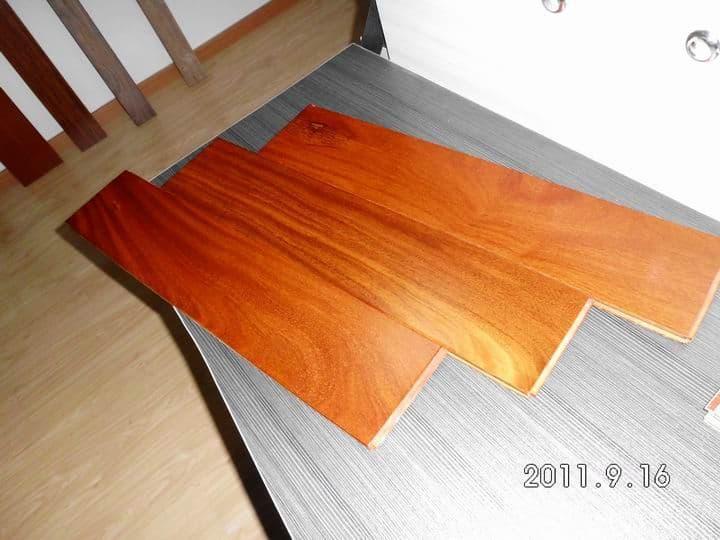 Finger Jointed Flooring : Burma teak finger jointed wooden flooring from foshan