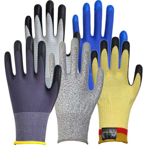 Piotex safety gloves