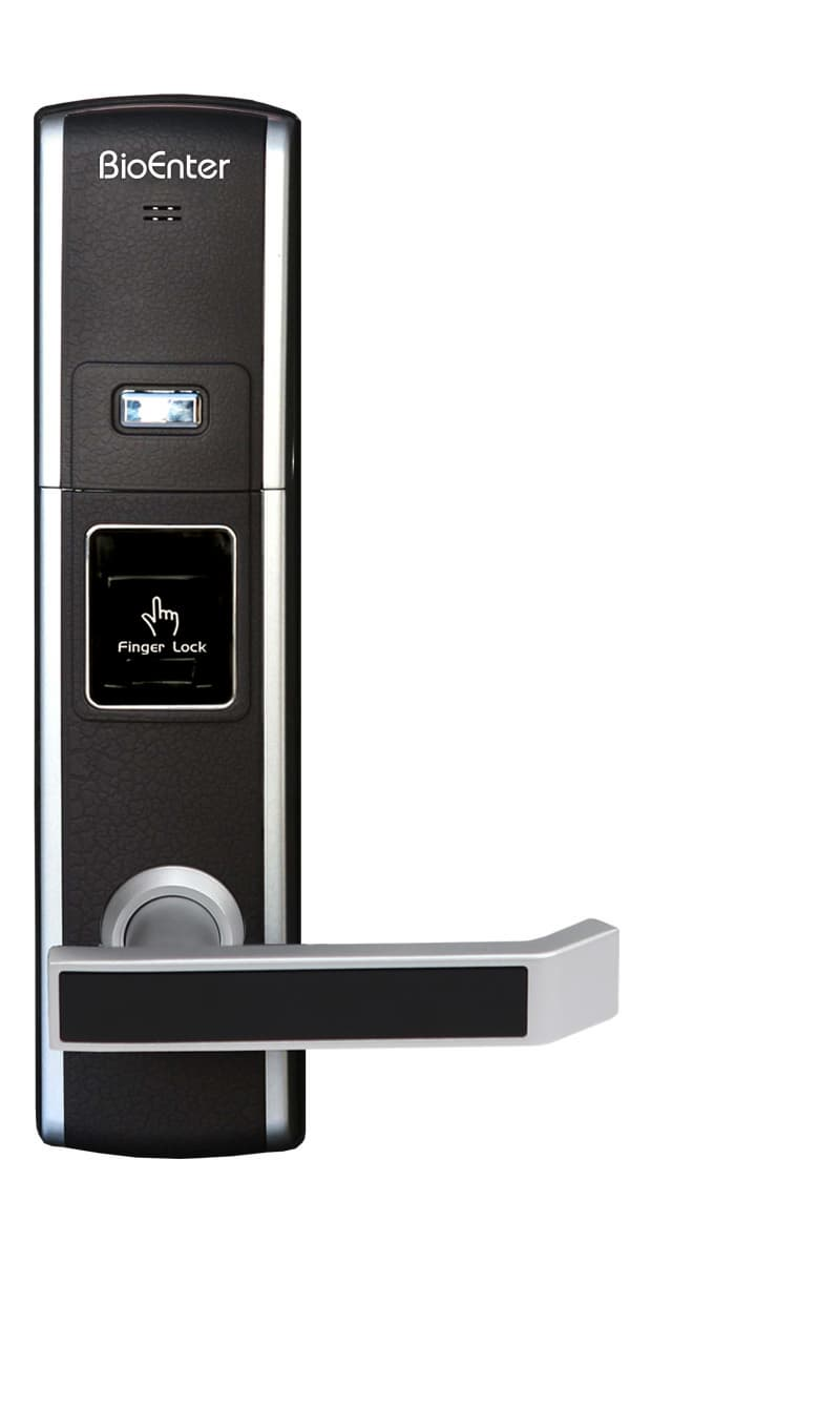 Bfs 900 fingerprint door lock from bioenter international for 1 touch fingerprint door lock