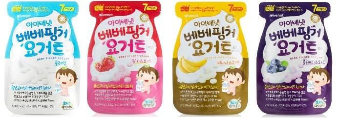 Ivenet Bebe Finger Yogurt