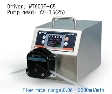 WT600F-65 intelligent peristaltic pump -IP65