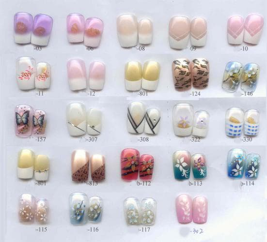 Designed nail tips ledufa fantastic pre designed nail tips wholesale be inspiration article prinsesfo Image collections
