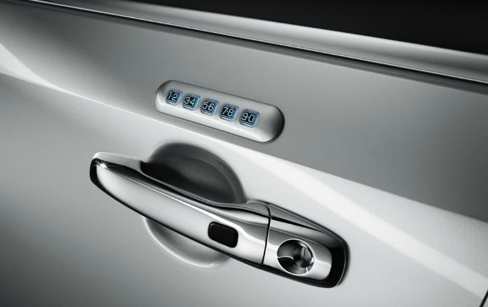 keyless entry keypad vehicle digital door lock from bisro co ltd b2b mark. Black Bedroom Furniture Sets. Home Design Ideas