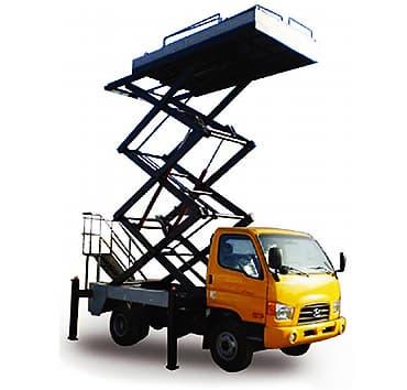 Scissors Lift Truck