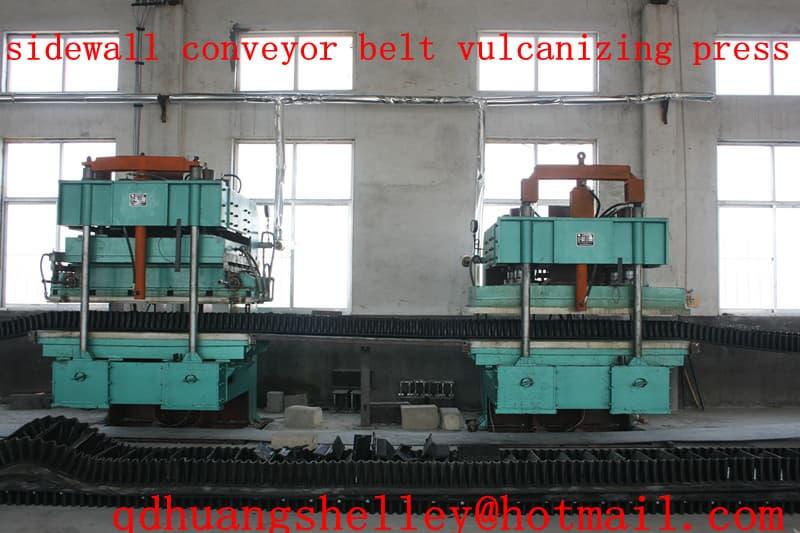 Sidewall Conveyor Belt Vulcanizing Press Machine From