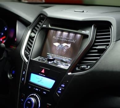 Hyundai 2012 SantaFe NAVIGATION
