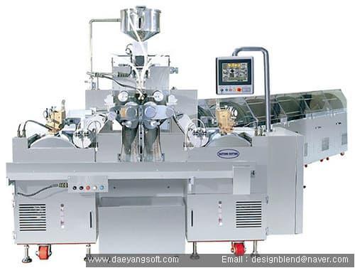 liquid gel capsule machine