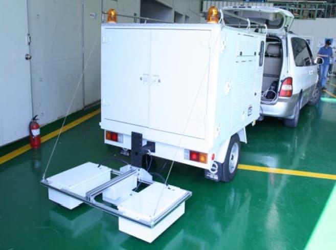 Road Inspection GPR System (Array GPR)