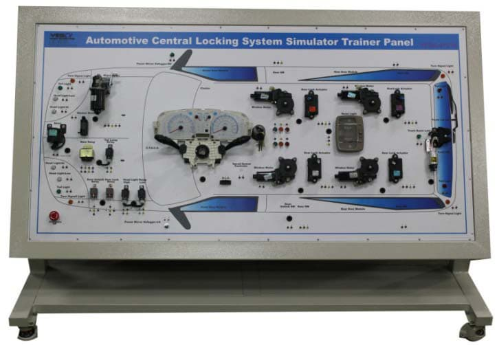 Automotive Central Locking System Simulator