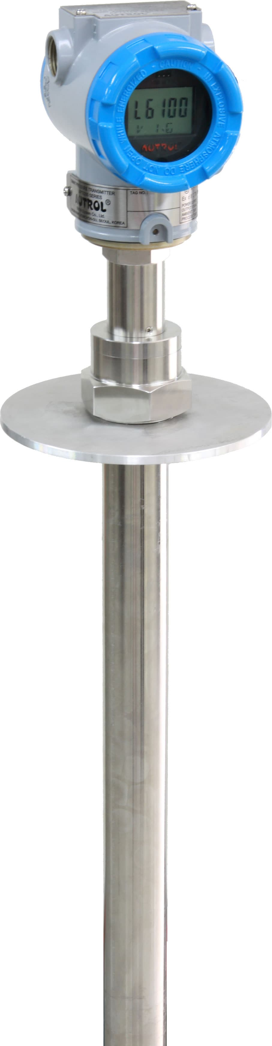 Level Measuring Instruments : Guided wave radar level transmitter from duon system co