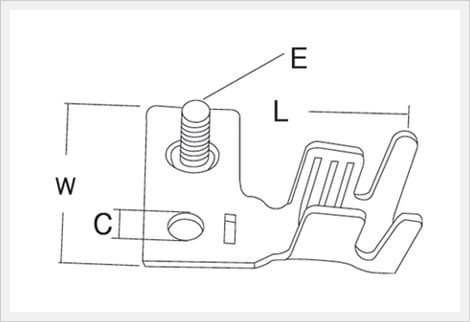 <strong>Battery</strong> Attachment <strong>Terminals</strong> (CBK10-012/14-012/15-012)