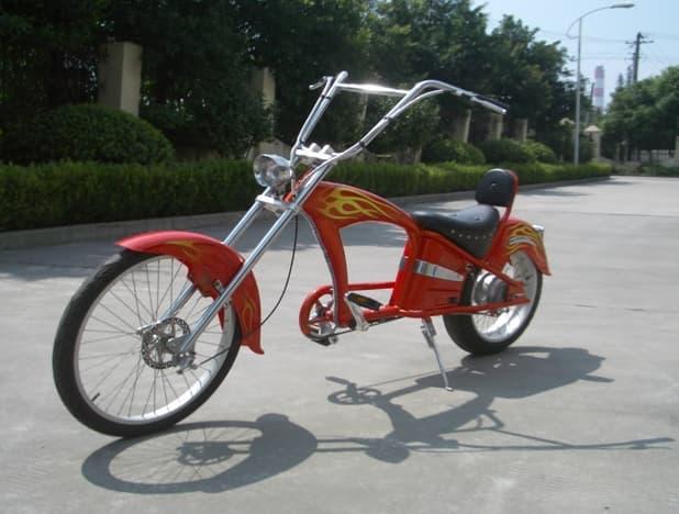 Hybrid (Electric,Gas Drive) Bike+