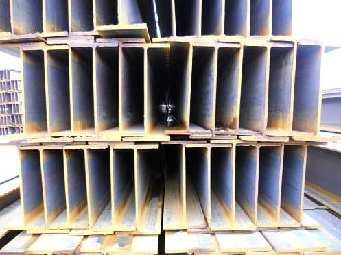 Hot Rolled Section H Beams Q235B,Q345B,SS400,SM490 Material