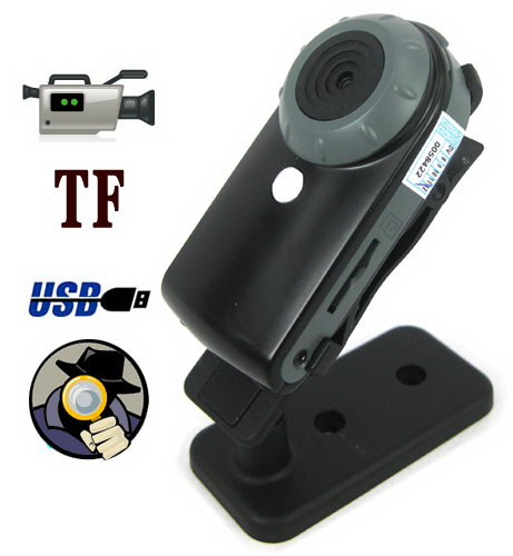 5.0 Mega Pixels High-quality Mini Spy Camera with AV Out ...
