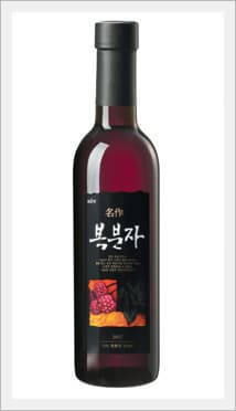 Korean Black Raspberry Wine 'Myungjak Bokbunja'