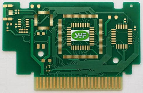 multilayer pcbs with ENIG/immersion gold surface finish and gold