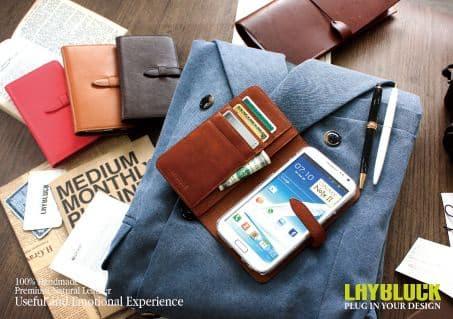 Phone case_ Designs Leather Case_ Pouch_Korea