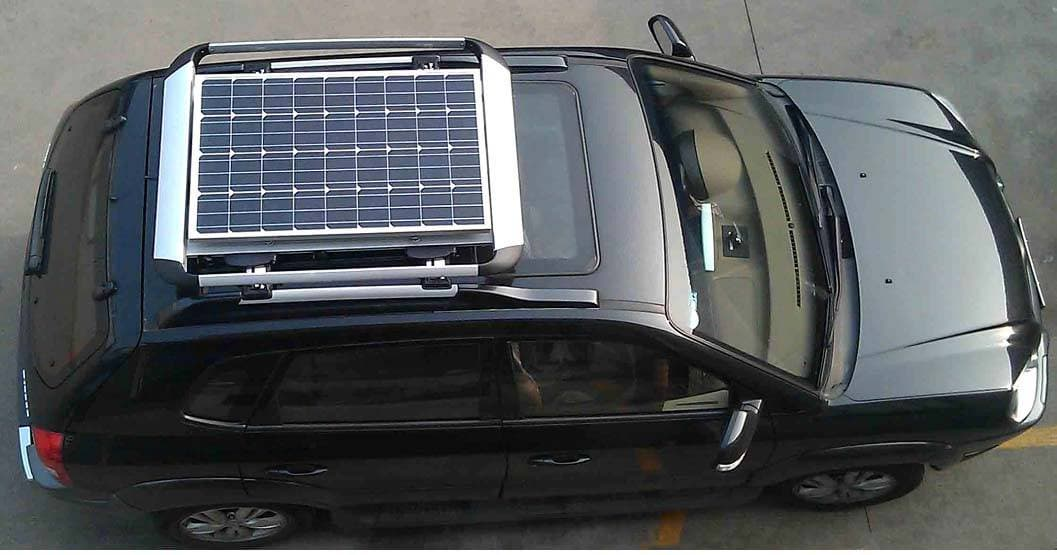 solar car solar panel A solar panel for your car we discover that you can harness the sun's energy to keep your motor's battery topped up.