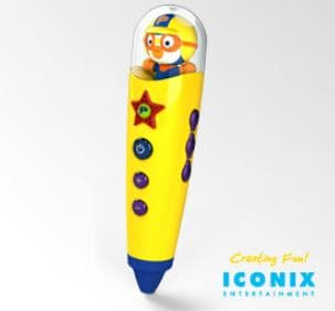 Iconix Entertainment <strong>PORORO</strong> Tick-Tock Pen NSP-C140