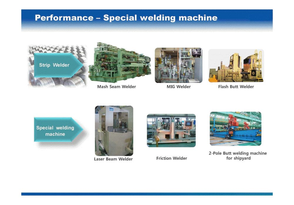 SPECIAL WEIDING MACHINE