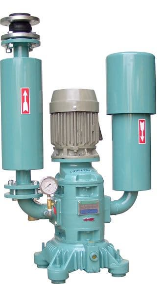 Water Industrial Blowers : Greatech air cooled silent roots blower from