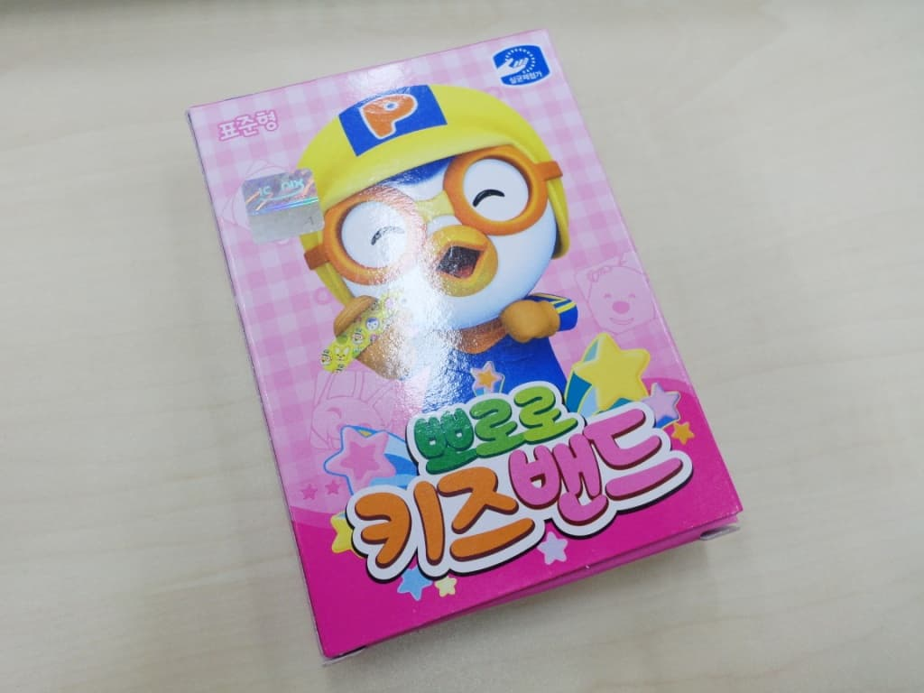 <strong>Pororo</strong> kids band-aid