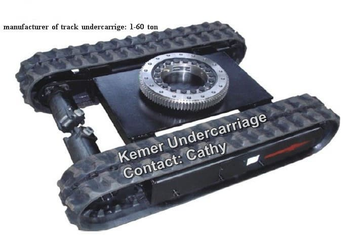 Rubber Track Undercarriage With Slew Bearing Tradekorea