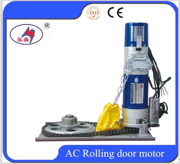 600kg remote controller rolling door motor from zhangzhou for Rolling shutter motor price
