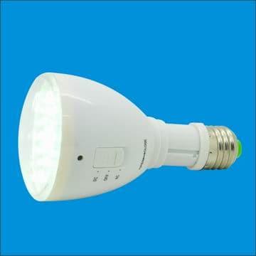 rechargeable emergency  LED bulb flashlight IBE0203A