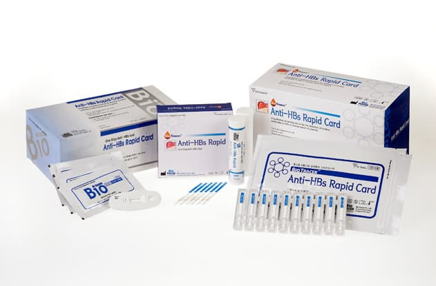 <strong>BioTracer</strong> Anti-HBs Rapid Test
