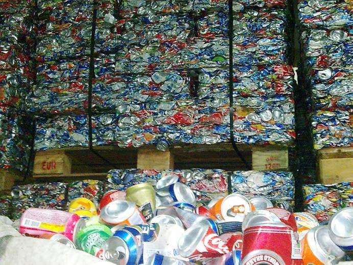 Aluminum Used Beverage Cans Scrap Ubc Scrap In Bales
