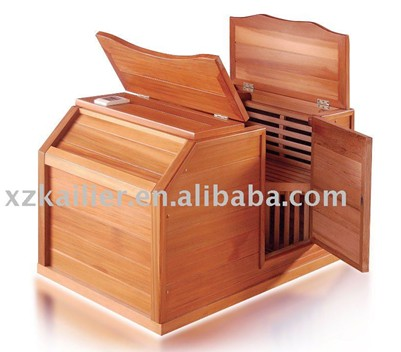 korea mini half sauna room far infrared sauna room carbon fiber sauna
