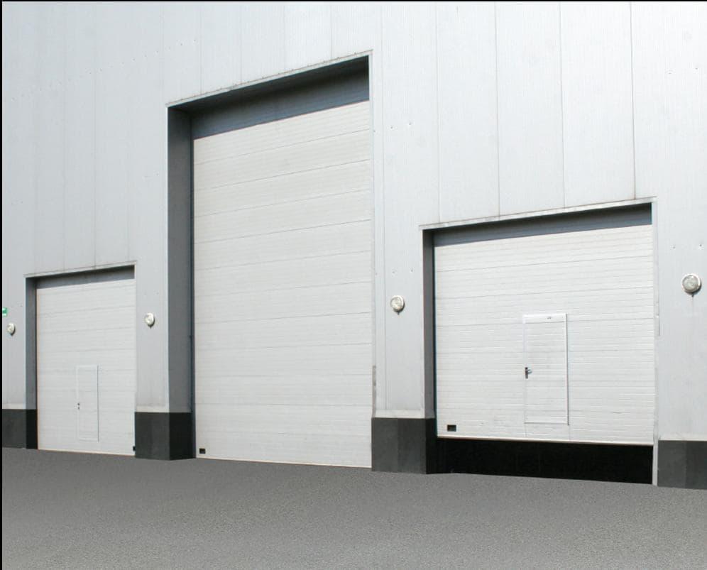 9 9 Sectional Garage Door : Industrial sectional door from doorhan group b