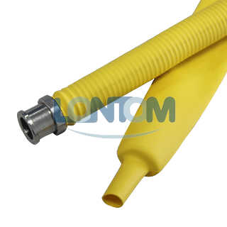 Yellow Heat Shrink Tube For Gas Hose