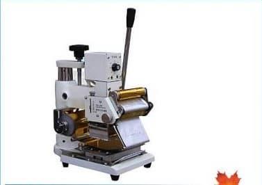 Manual Hot Foil Stamping Machine Card Tipper Foil