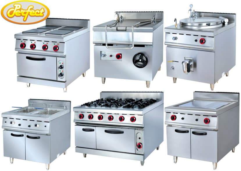 kitchen equipmet commercial cooking range for restaurant