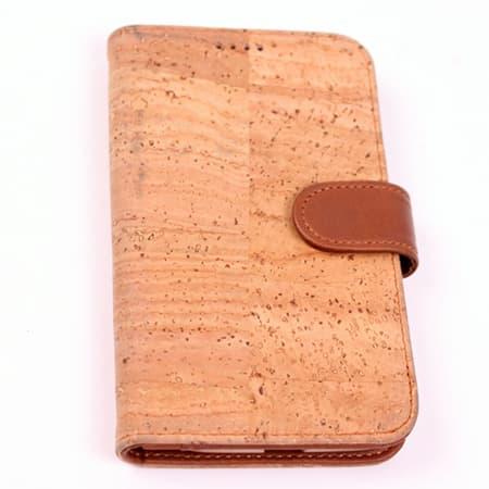 Cork-fabric mobile phone case