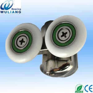 Double alloy shower rollers for shower <strong>enclosure</strong> shower door rollers glass shower door rollers688RS